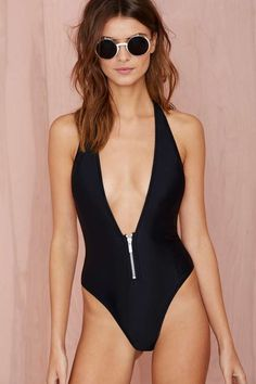 Nasty Gal Deep End Swimsuit | Shop What's New at Nasty Gal
