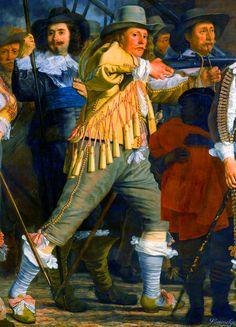 Dutch Militia Company of District VIII under the command of Captain Roelof Bicker