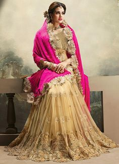 Beige and Pink Net and Satin Designer Saree www.ethnicoutfits.com Product Code : (4758) Email : support@ethnicoutfits.com What's app : +918141377746 Call : +918140714515