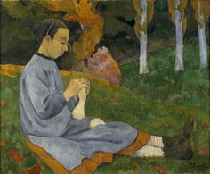 Girl from Savoy by @paulserusier #synthetism