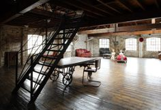 hippanonymous: Warehouse Living Spaces
