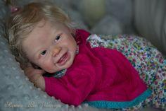 Harper by Andrea Arcello. Reborned by Marina Blue Nursery