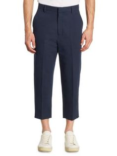 cropped trousers - Blue Vince rqcMR