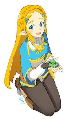 FYI Zelda, Link doesn't like eating frogs.