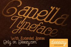 Capella Regular Font – Deeezy – Freebies with Extended License