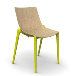Liquid wood: Philippe Starck with Eugeni Quitlet created Zartan for Magis.