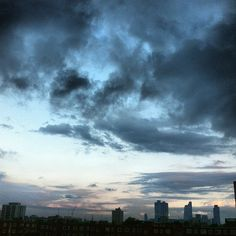 Dark cloudy sky #sky #london #summer #shoreditch #instacool #iphone - @psunil- #webstagram  Sunil Malkani