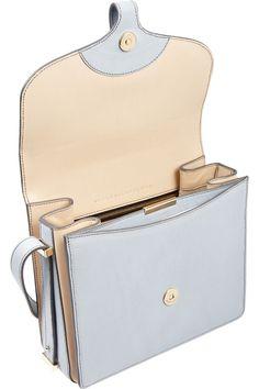 Victoria Beckham|The Harper textured-leather shoulder bag|NET-A-PORTER.COM