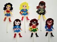 Resultado de imagen de super heroes girl party