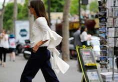<![CDATA[Ah, French-girl style. The nation's street style stars always look so effortlessly elegant, and the je ne sais quoi factor is real—how do they make skinny jeans and a T-shirt look like the world's most...]]>
