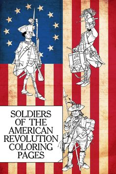 Soldiers of the American Revolution coloring pages: 11 historic uniforms & coloring guides -