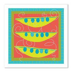 theodore + paper: peas card – theodore + paper