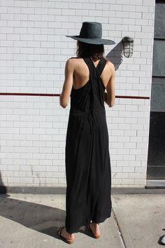 RIVIERA DRESS, BLACK