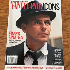 VANITY FAIR ICONS Special Collectors Edition FRANK SINATRA 112 Page TRIBUTE New  | eBay
