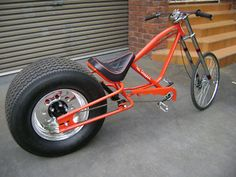 no kickstand needed custom Bicycle Trike Scooter, Trike Bicycle, Moto Bike, Cool Bicycles, Cool Bikes, Bike Chopper, Dynamo, Bicycle Types, Power Bike