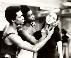 The Dance Theater of Harlem.  Arthur Mitchell and dancers.