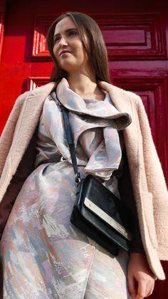 Cum mi-am creat o rochie/vesta dintr-un material de draperie din SH – Alexandra Tiutiu Blog