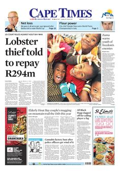 Lobster thief told to repay R294m