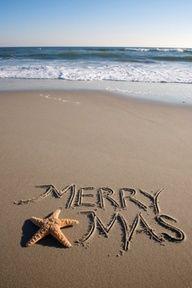 "dontcallmebetty: ""(via Christmas in Cornwall, UK Xmas holidays "" Tropical Christmas, Coastal Christmas, Very Merry Christmas, Noel Christmas, Christmas Photos, All Things Christmas, Family Christmas, Beach Christmas Pictures, Aussie Christmas"