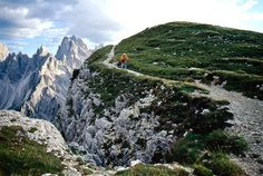 Mountain Biking in the Most Beautiful Places on Earth: Italy's Dolomite Mountains