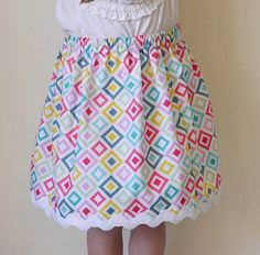 PDF Easy Skirt Tutorial for ANY Size by StyleNovice on Etsy