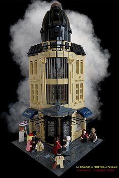 https://flic.kr/p/LbxsnA | BHVParis 1889 steampunk [WIP 4] Le Bazar de l'Hotel…