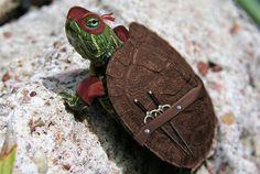 Teenage mutant ninja turtles! Raphael and all his glory.