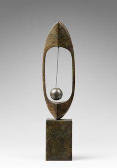'Composition a la Boule' (1957) by Uruguayan artist Carmelo Arden Quin (1913-2010).