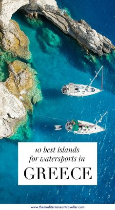 Whether you're looking for high-octane thrills, tranquil exploration, or some laid-back paddling, these 10 islands are the best for water-based activities. Backpacking Europe, Travel Europe, European Travel, Tahiti, Bora Bora, Best Greek Islands, Greece Travel, Greece Trip, Greece Vacation