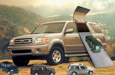New Toyota SUV holds eight passengers and their SUVs http://www.staugustinetoyota.com/Sequoia-Inventory.aspx