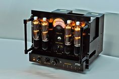 Mono and Stereo High-End Audio Magazine: LINE MAGNETIC AUDIO 805A magic Hifi Audio, Audio Speakers, Cd Player, Speaker Amplifier, Audio Design, High End Audio, Sound & Vision, Vacuum Tube, Electronics Gadgets