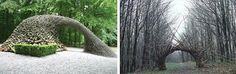 Stone Art Blog: Landscape Sculpture, garden sculptures, and Andy Goldsworthy.