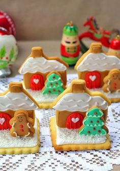 Standup cookies--perfect for place markers on your holiday table. Just add a name...
