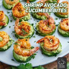 shrimp avocado bites  | Posted By: DebbieNet.com