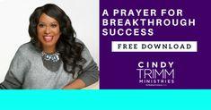 Prayer Archives - Cindy Trimm Ministries International