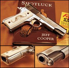 Jeff Cooper's personal carry pistol, a lightly modified Colt Government Model 1911.