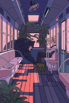 19 Ideas For Street Art Illustration Artworks Pictures Aesthetic Anime, Aesthetic Art, Aesthetic Drawing, Aesthetic Images, Anime Kunst, Anime Art, Pretty Art, Cute Art, Arte Indie