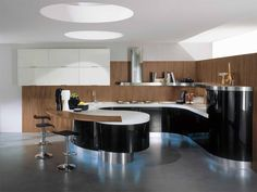Kitchen in a modern style Aster domina
