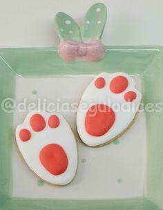 Biscoitos Patas Coelho