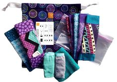 The components of a Days for Girls washable feminine hygiene kit. These kits allow needy girls to attend school without shame on period days. Each kits lasts 3 years! Christmas Child Shoebox Ideas, Operation Christmas Child Shoebox, Kids Christmas, Christmas Crafts, Operation Shoebox, Sewing Crafts, Sewing Projects, Sewing Ideas, Sewing Kits