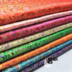 Floral Brocade Fabric Damask Jacquard Costume Upholstery Furnishing 90cm*100cm  | eBay
