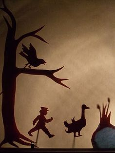 great post on how to make your own puppets and theater http://acornpies.blogspot.com/2010/02/make-shadow-puppet-play.html