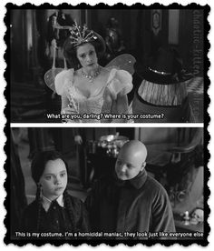 THE ADDAMS FAMILY movie quotes