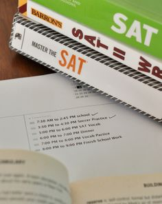 Strong study habits for Big Tests: OGT, SAT, ACT, Exams