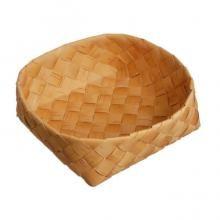 フィンランド白樺ブレッドバスケット (φ24×H7.5cm/一番皮)