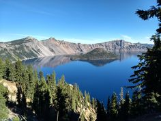 Just another simple shot of Crater Lake in Oregon  [4032x3024] #nature and Science