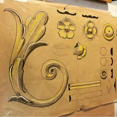 New Ideas For Wood Crafts Signs Stencils Painted Wood Signs, Painted Floors, Natural Wood Trim, Vintage Floral Backgrounds, Art Nouveau Poster, Tattoo Signs, Leaf Drawing, Sign Stencils, Barn Wood Frames