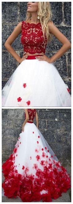 A-line/Princess Wedding Dresses, White Wedding Dresses, Long Wedding Dresses, Long White Wedding Dresses With Applique Floor-length Bateau Sale Online Wite Prom Dresses, Red Wedding Dresses, Prom Dresses 2018, Tulle Prom Dress, Princess Wedding Dresses, Pretty Dresses, Beautiful Dresses, Long Dresses, Sequin Wedding