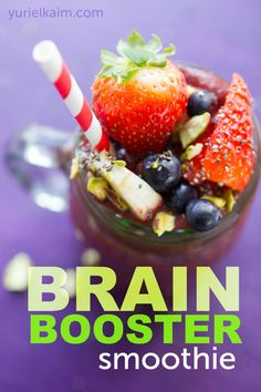 Brain Boosting Smoothie- Sip That Brain Fog Away!