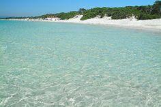 Maria Pia Beach, Alghero, Sardinia